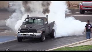 getlinkyoutube.com-Diesel Drag Trucks Drag Racing Episode 2