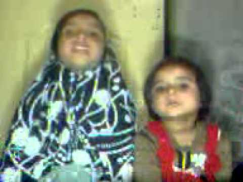 Allah huma sali ala by mubasher,s nices- mehak and mahnoor.