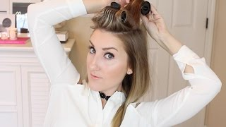 getlinkyoutube.com-NEW HAIR, HOT ROLLERS HOWTO, DECOR DILEMMAS, CHATTY