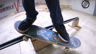 getlinkyoutube.com-Ruin My Friend's Skateboard!?