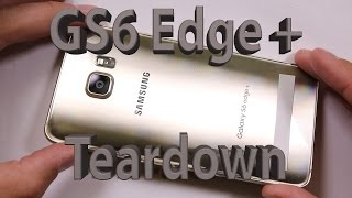 getlinkyoutube.com-Samsung Galaxy S6 Edge + PLUS Teardown and Repair video