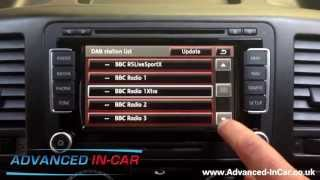 getlinkyoutube.com-Volkswagen RNS 510 Nav & DAB Review