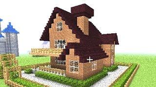 getlinkyoutube.com-マインクラフト【実況】:家の作り方 【簡単大きい家】