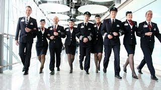 getlinkyoutube.com-Airline Cabin Crew Uniforms & Styles - Around The World