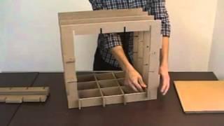 getlinkyoutube.com-Muebles modulares de cartón que puedes construir tú mismo