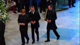 getlinkyoutube.com-Princess Diana's Funeral Part 7: Elton John & George Michael