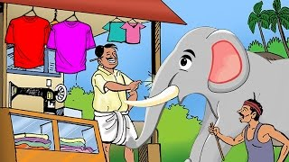 getlinkyoutube.com-Telugu Moral Stories For Kids   Yenugu And Darji Short Movie   Animated Telugu Short Stories