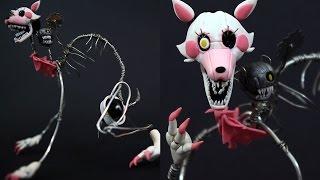 getlinkyoutube.com-Drawkill Mangle / M4NGLE Posable Figure Polymer Clay Tutorial