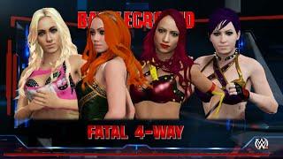 getlinkyoutube.com-No Diva Left Behind | Becky Lynch | Sasha Banks | Charlotte Flair | CAW Entrance WWE2K16