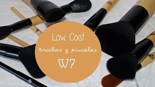 getlinkyoutube.com-Low cost | Brochas y pinceles W7