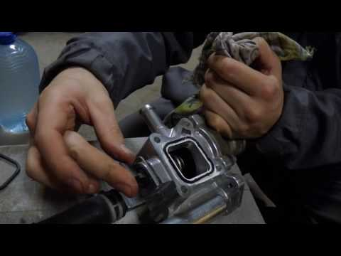 Корпус термостата меняем на алюминий Chevrolet Cruze