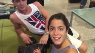 getlinkyoutube.com-Jorge Blanco bacia i piedi a Martina Stoessel VIDEO INEDITO