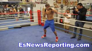 The New Mike Tyson GGG Shadow Boxing And Flexing - EsNews Boxing