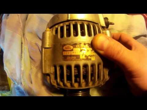 Ровер75#ОБЗОР# и снятие генератора