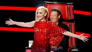 getlinkyoutube.com-Gwen Stefani and Blake Shelton's Most Adorable Moments on 'The Voice'