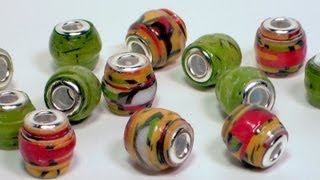 getlinkyoutube.com-European style paper beads