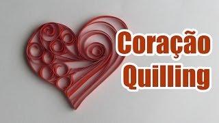 getlinkyoutube.com-Coração de Quilling