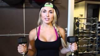 getlinkyoutube.com-Glutes & Shoulder Workout