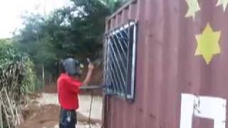 getlinkyoutube.com-PART 1 Step by step of Shipping Container Home Design and Construction