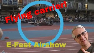getlinkyoutube.com-Flying RC Aircraft Carrier | E-Fest