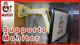 FAI DA TE - Come costruire un supporto per monitor