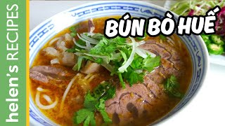 getlinkyoutube.com-How to make BUN BO HUE - Vietnamese Spicy Beef Noodle Soup