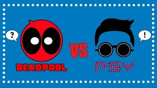 getlinkyoutube.com-Deadpool vs Gentleman | PSY Parody