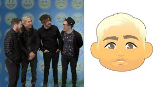 getlinkyoutube.com-Fall Out Boy Plays the #EmojiGame! | Artist Challenge