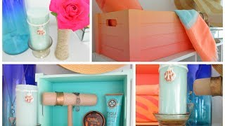 getlinkyoutube.com-DIY Summer Room Decor Ideas