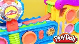 getlinkyoutube.com-Play Doh Fun Factory Play Doh Mega Fun Factory Playdough Hasbro Toys Review