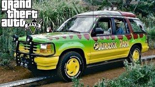 getlinkyoutube.com-Grand Theft Auto 5 : Jurassic Park