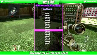 getlinkyoutube.com-Black Ops 2 GSC Menu Base (PS3) 1.19 Aficanized Menu Base