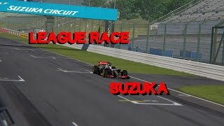 Assetto Corsa F1 League Race @ Suzuka - Full Race