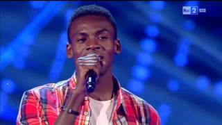 getlinkyoutube.com-Charles Kablan - Hello | The Voice of Italy 2016 - Blind Audition