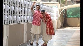Deepika Padukone's Grand Welcome At Ranveer Singh Home Will Melt Your Heart width=