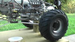 getlinkyoutube.com-1/4 Scale Grave Digger Part 22 with Stinger 609 - First run.