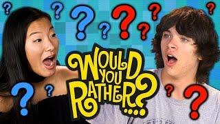 getlinkyoutube.com-WOULD YOU RATHER?! (Teens React: Gaming)