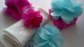 getlinkyoutube.com-Flores de papel de china :D!
