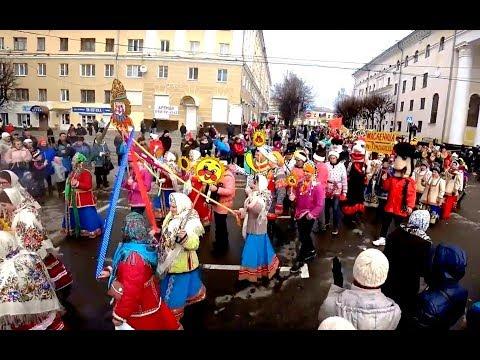 Калужская МАСЛЕНИЦА / Maslenitsa, Russian Ethnic Festival