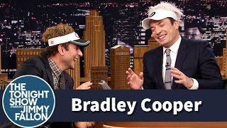 getlinkyoutube.com-Bradley Cooper and Jimmy Can't Stop Laughing