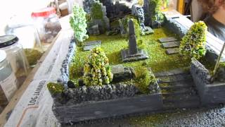 getlinkyoutube.com-My Attempt at Building Dioramas for My Models Part 2