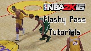getlinkyoutube.com-[PS4] NBA 2K16 패스 튜토리얼 - 플래쉬 패스 / Flashy Pass