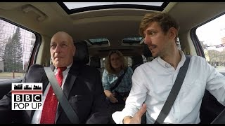 Car confessions with a Trump and Sanders supporter - BBC News