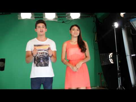 James Reid and Nadine Lustre on MTV Pinoy
