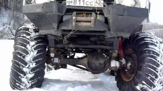 getlinkyoutube.com-Ниссан Патрол + 66 мосты + кразовские колеса