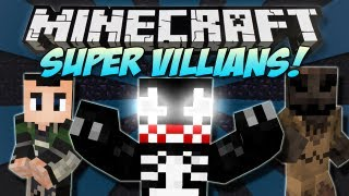 getlinkyoutube.com-Minecraft | SUPER VILLAINS! (Venom, Loki & Scarecrow!) | Mod Showcase [1.4.7]