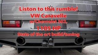 getlinkyoutube.com-VW Caravelle V8 Twin-turbo, 1.105 HP/1.311 Nm
