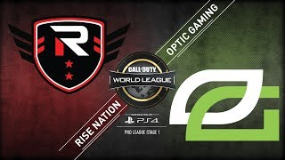 Rise Nation vs OpTic Gaming | CWL Pro League | Stage 1 | Week 6 | Day 3