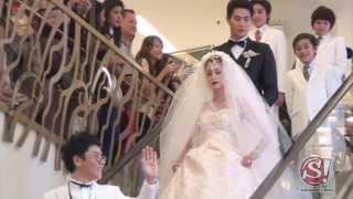อลังการ ดารา สวมชุดแต่งงาน ประชันเครื่องเพชร