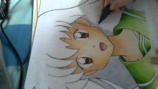 getlinkyoutube.com-Kagome Higurashi From Inuyasha Speed Paint